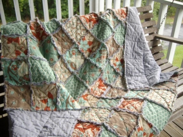 Simplicity Rag Quilts Fabric Sewing Pattern 2935