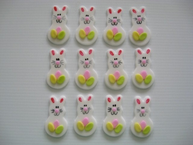 fondant cakes for easter. Fondant Cupcake Toppers