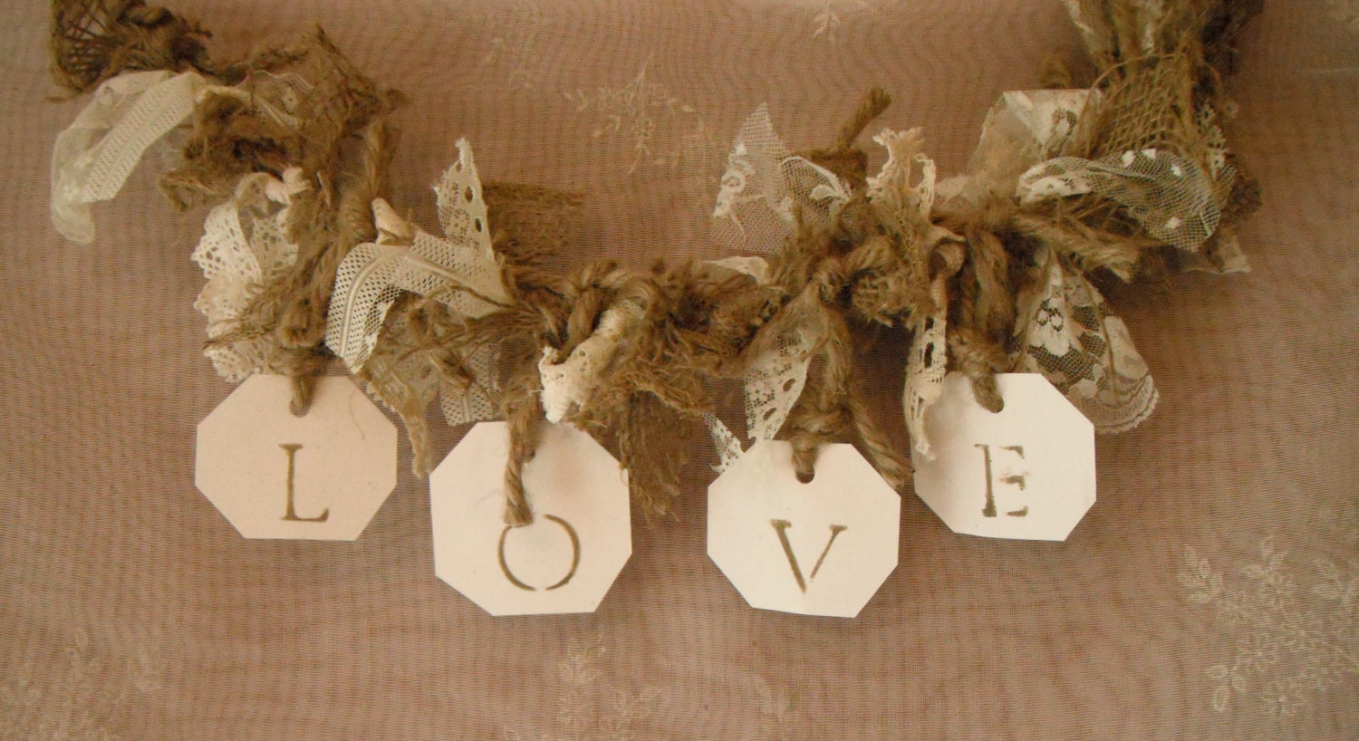 Shabby Farmhouse Wedding Banner