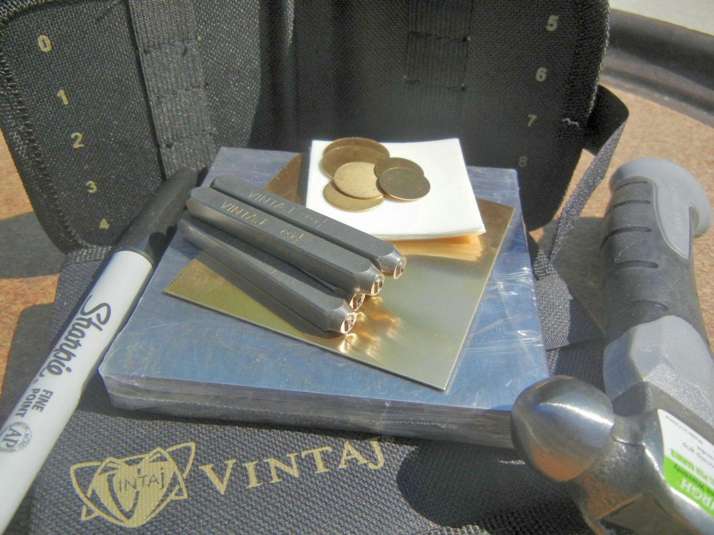 vintaj metal stamping kit metal jewelry hand by supplyzone