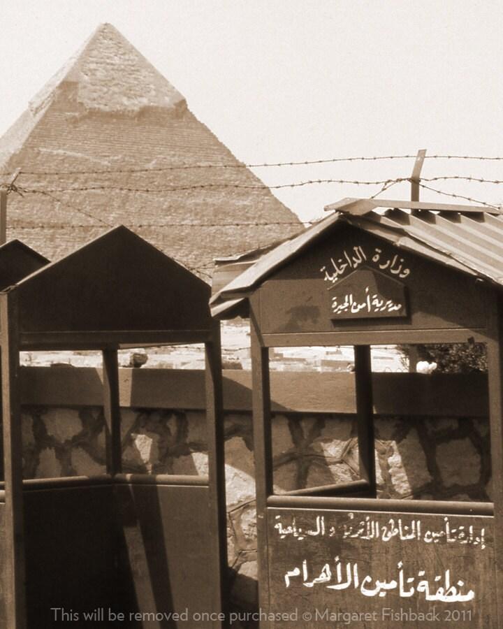 Outside the Giza Plateau. Cairo, Egypt 8 x 10 - 123fish