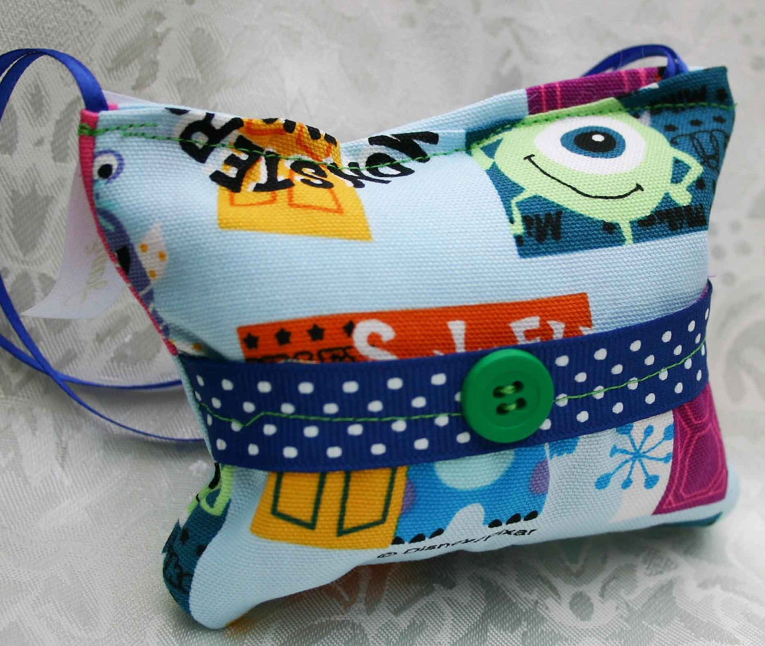 Monsters Inc. Tooth Fairy Pillow - The Original Jenny Looms
