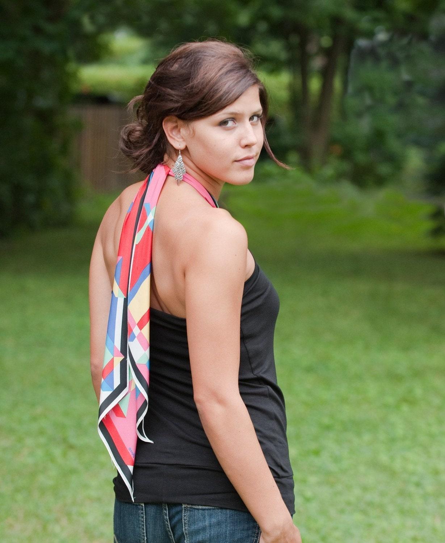 محیط زیست دوستانه سیاه و سفید افسار -- محصول خود را انتخاب روسری -- ساخته شده برای اندازه گیری