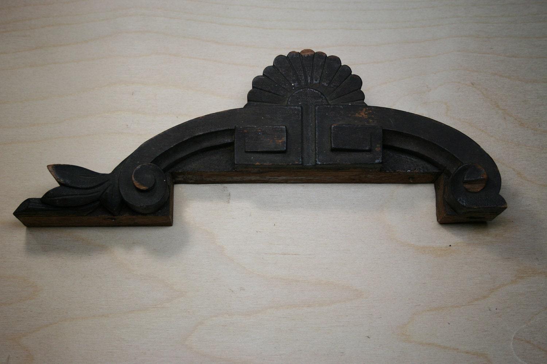 Vintage Wood Furniture Embellishment Salvaged By