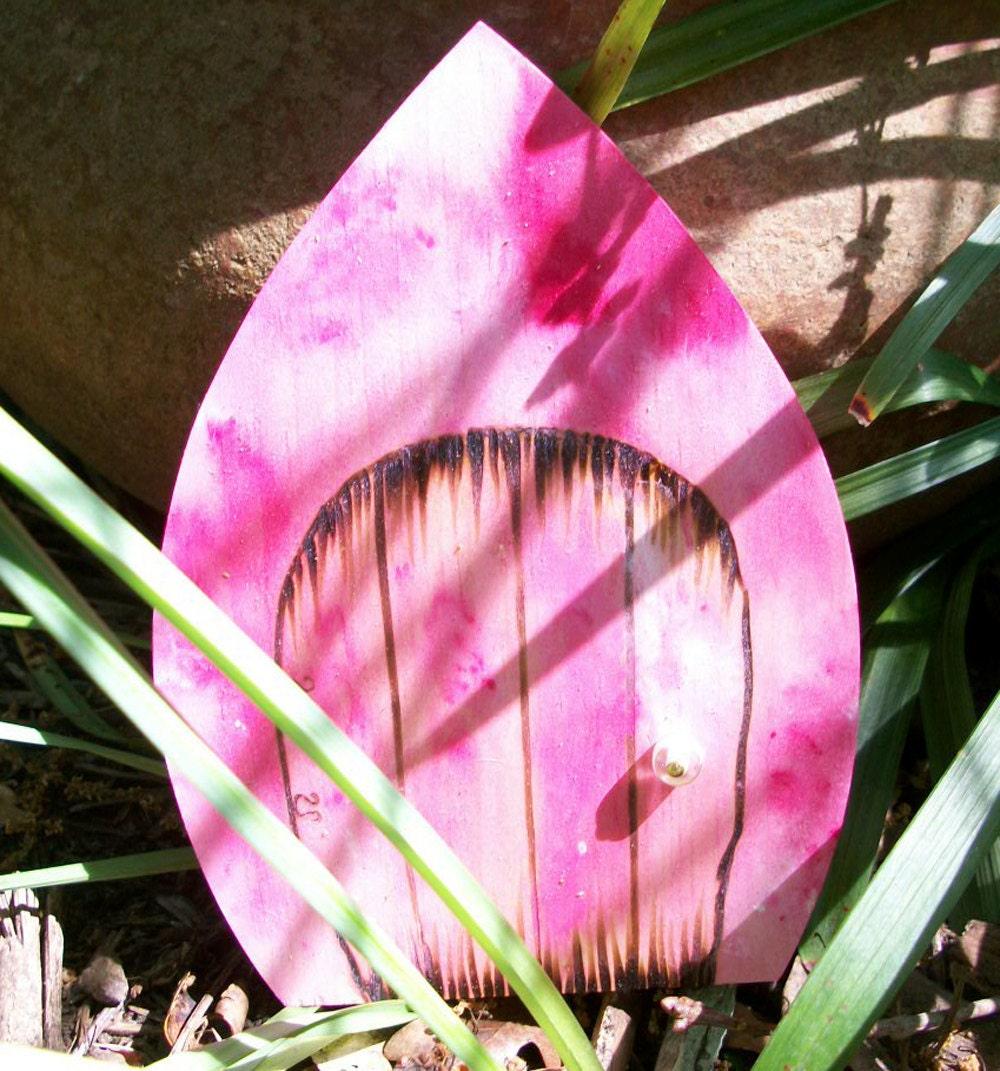 Волшебную дверь готический магический портал Фушия розовый галстук окрашенные 6 дюймов