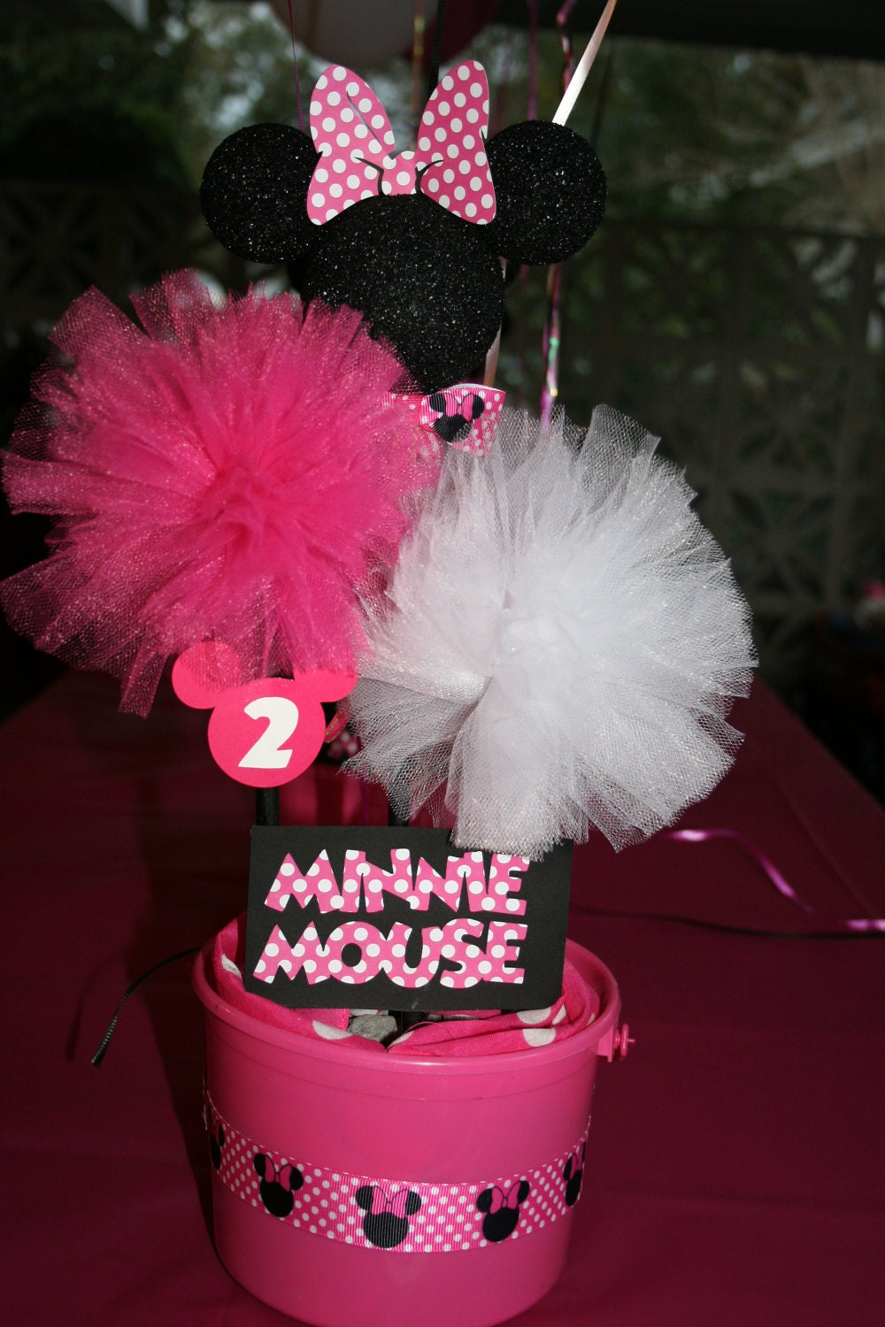 Baby minnie mouse shower decorations best
