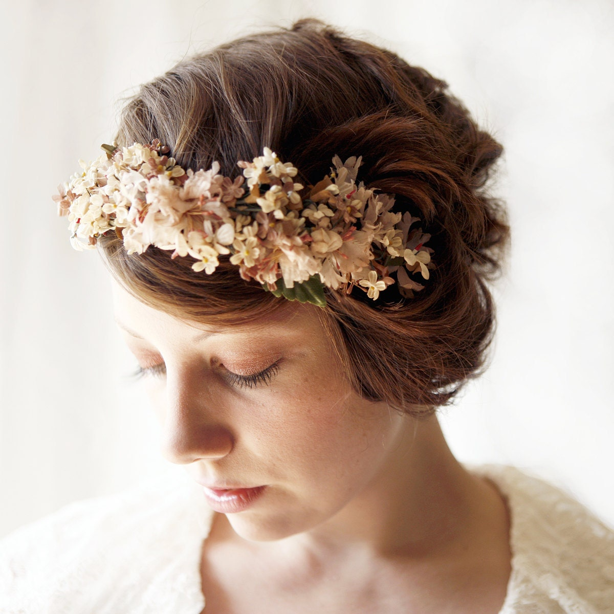 Vintage Inspired Crowns, Fascinators, and Combs by Which Goose