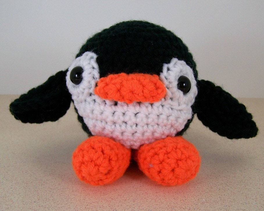 Silly Penguin - amigurumi crochet