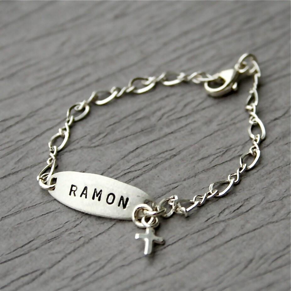 baby boy s bracelet newborn bracelet baby by charmsoffaith