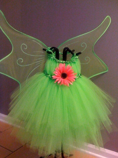 Fairy Tale, Tulle Dress, Tutu, Dress Up, Halloween Costume, Tinkerbell Inspired