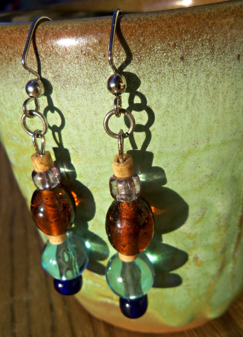 Desert River Earrings