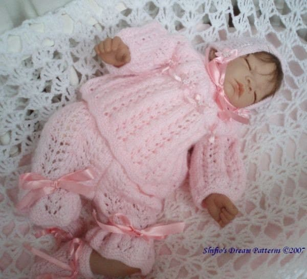 Free Knitting Pattern For Baby Angel Top : Items similar to Knitting Pattern For baby Angel top ...