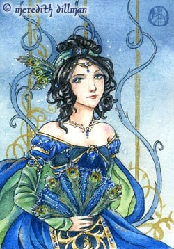 Sapphire ACEO limited edition print