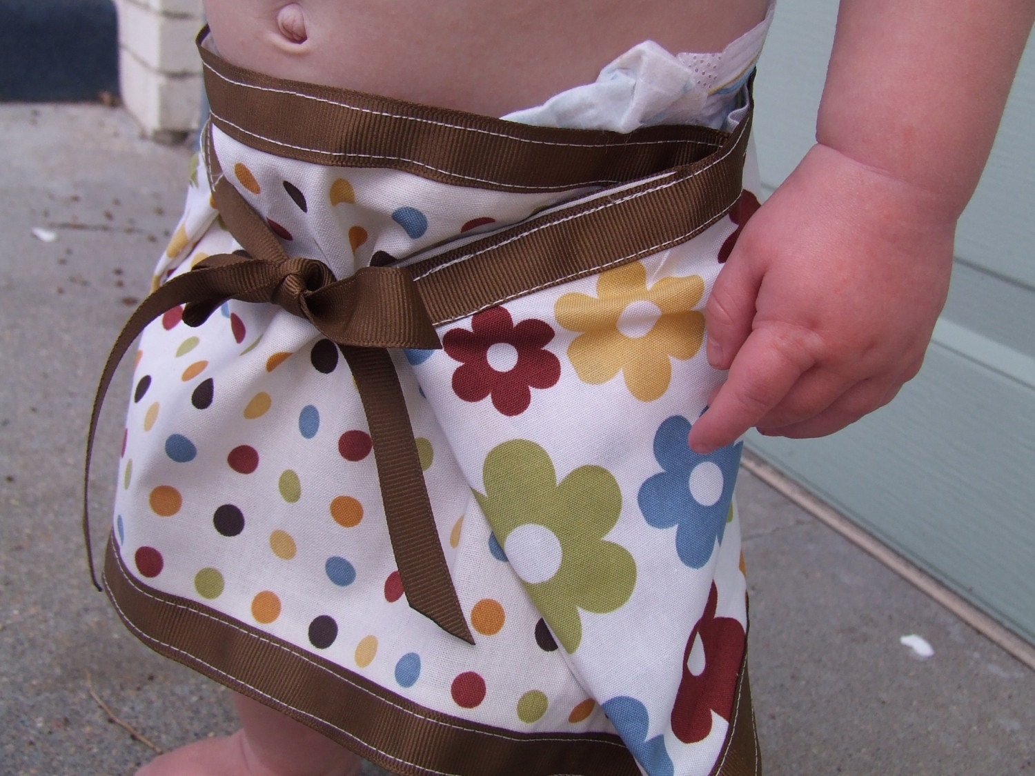 Reversible A line skirt 6 to 12 months