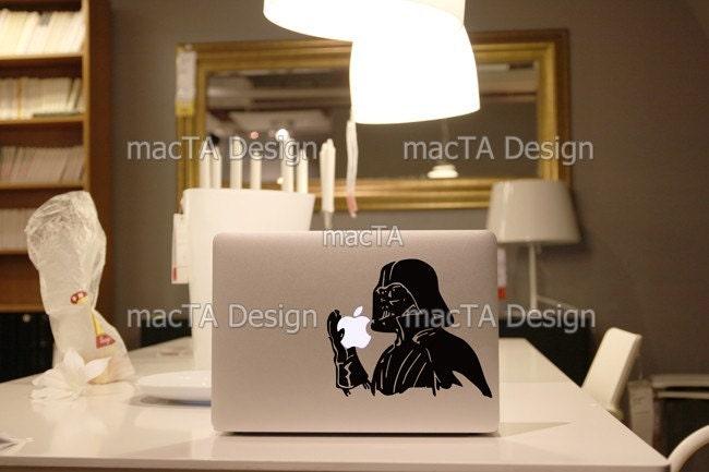 Holding the Apple - Vinyl MacBook Skin Sticker Decal