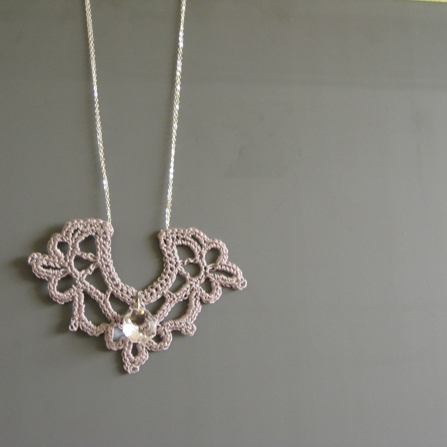 Mornington Necklace (Sterling silver chain)
