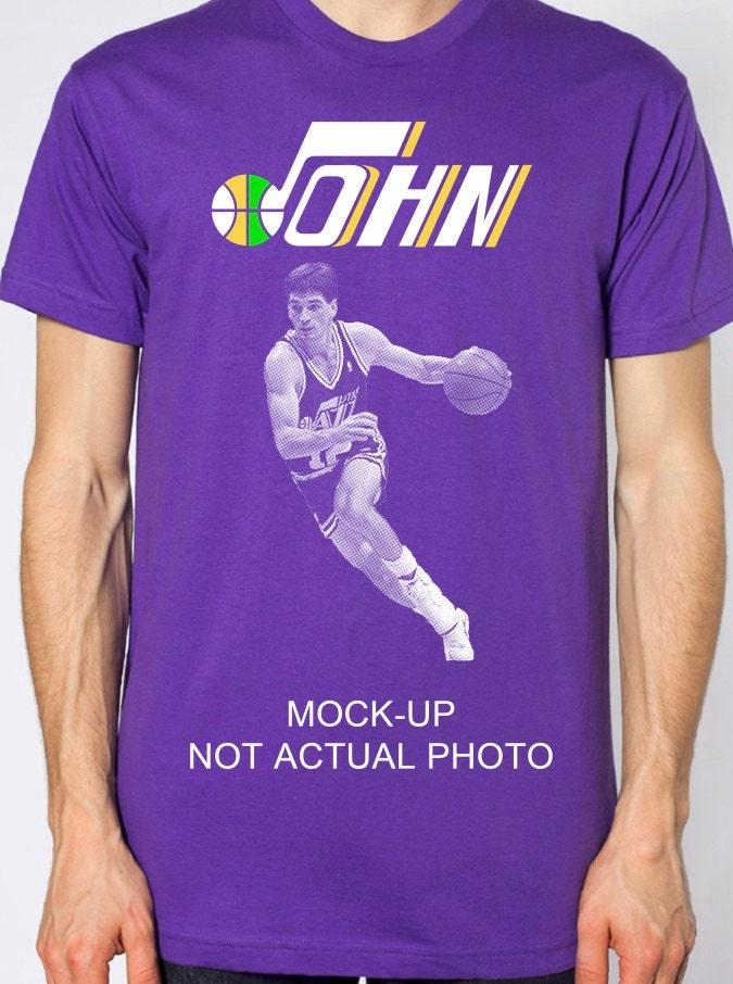 Items Similar To John Stockton Utah Jazz American Apparel