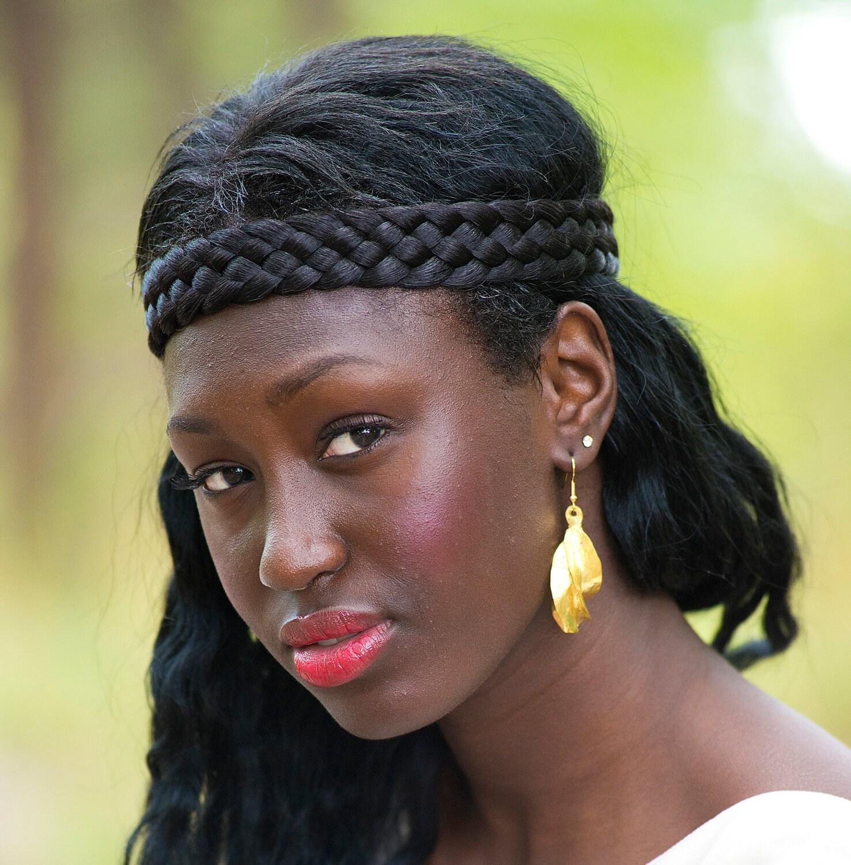 Fulani Earrings: Dangling Bronze Fulani Earrings By MusoMasiri On Etsy