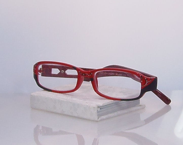 reading glasses 100 strength eyeglasses handpainted by