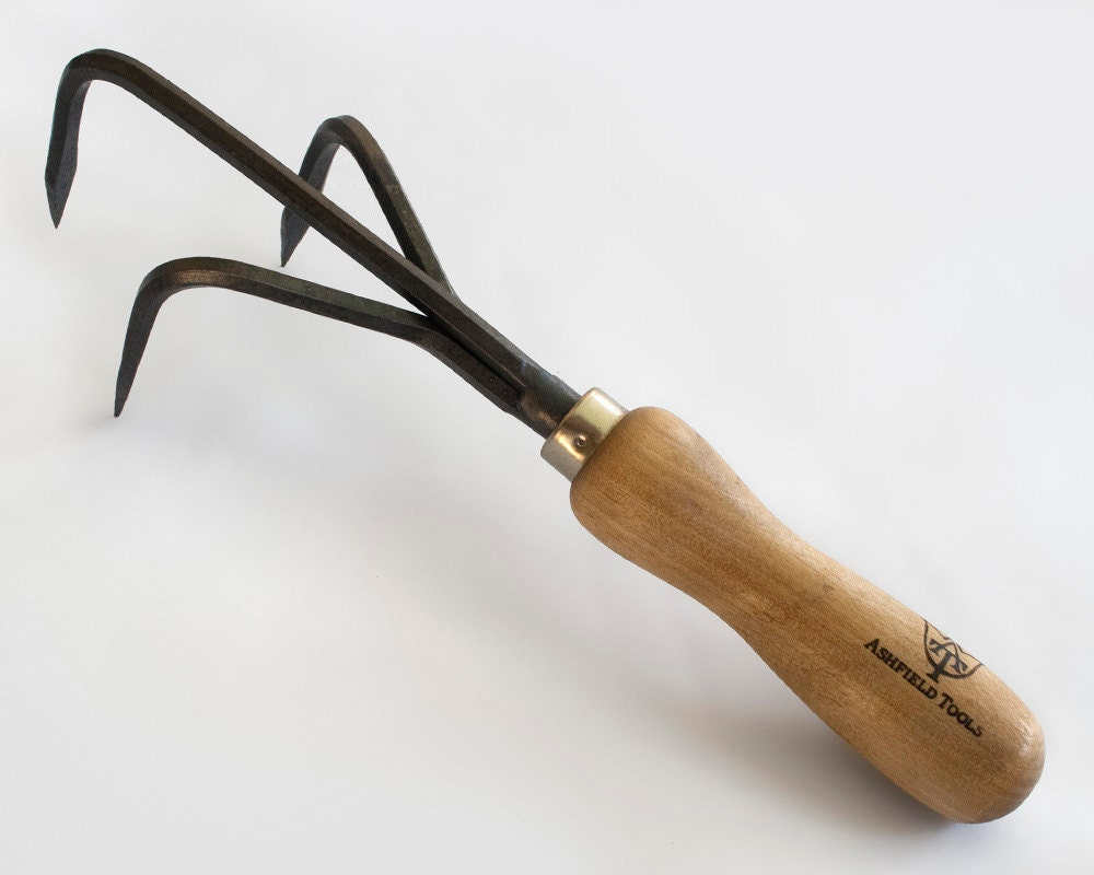 Garden tool cultivator handmade upcycled steel by for Gardening tools made in usa