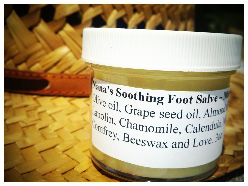 Nana's Soothing Foot Salve - Mint