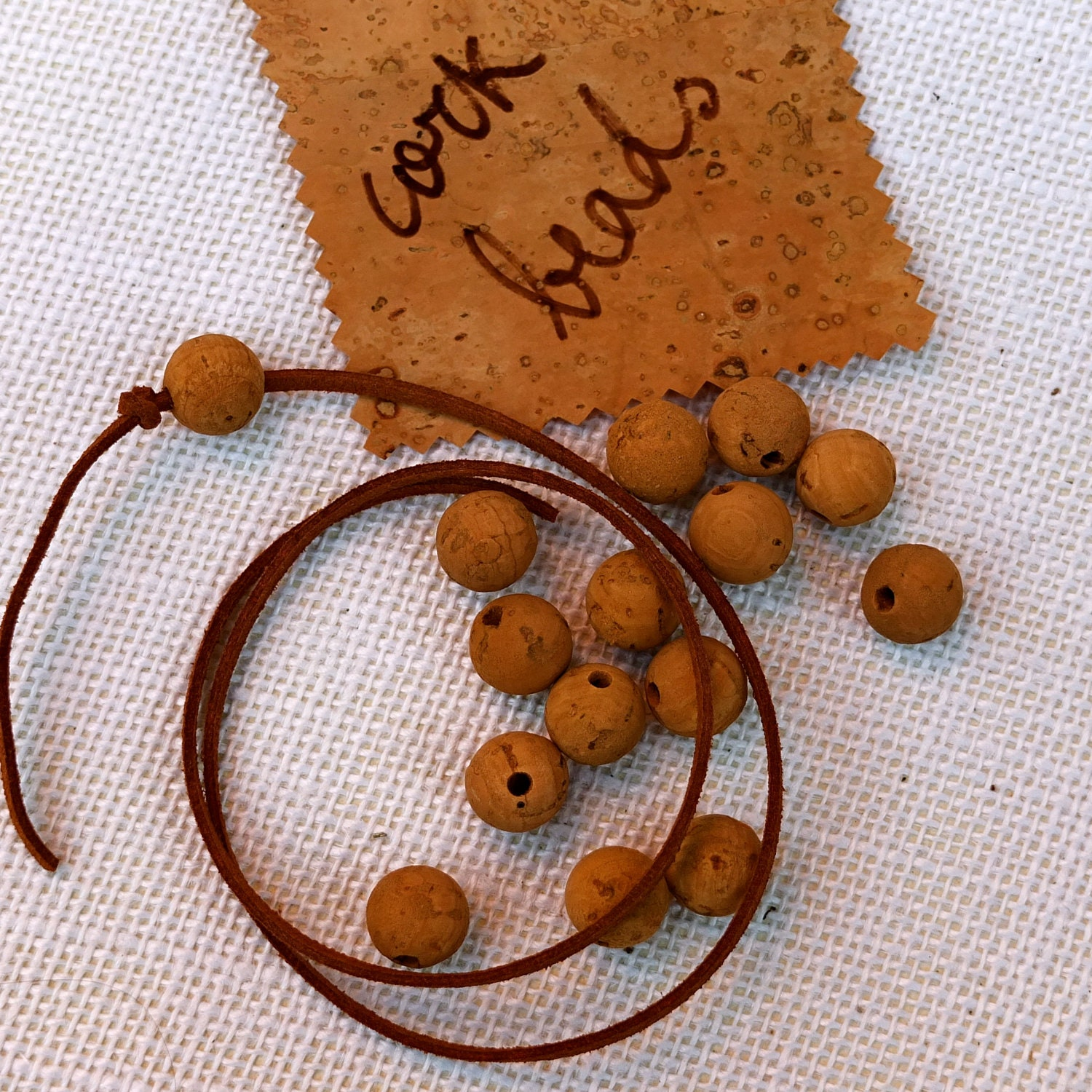 Cork Beads: Unavailable Listing On Etsy