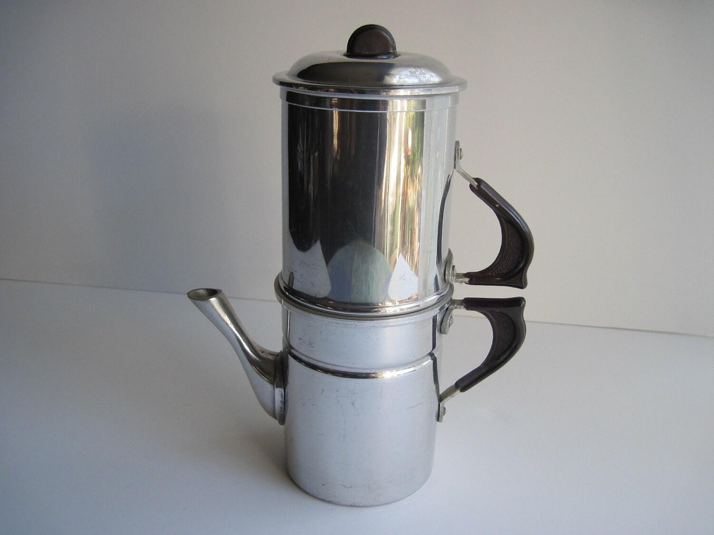 Neapolitan Flip Coffee Pot ~ Coffee pot neapolitan flip style by theenduringappeal on etsy
