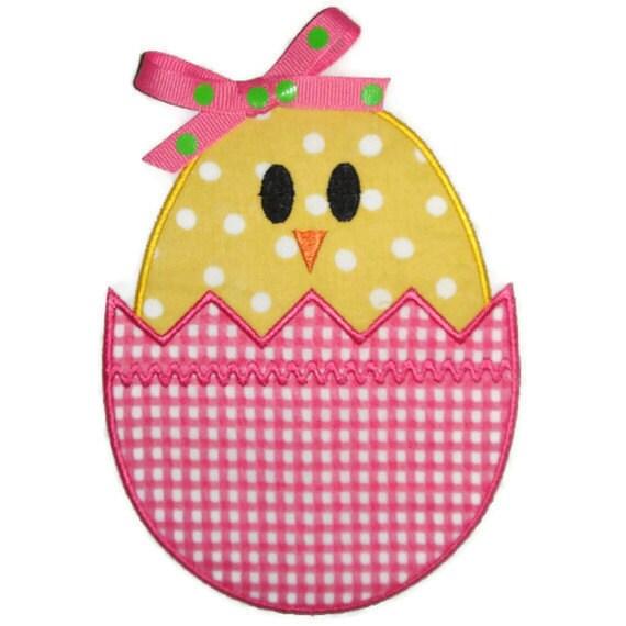 Free Easter Egg Applique Design