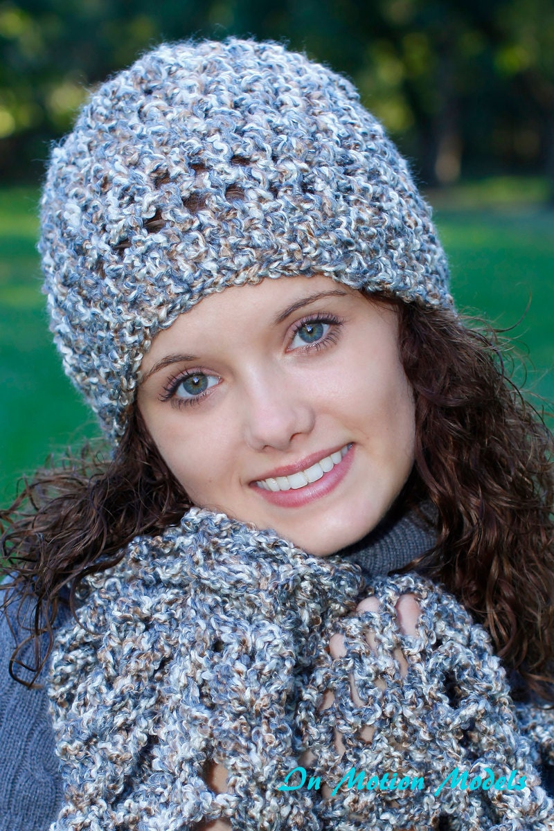 Items similar to Made to order Crochet Cloche Hat and Lacy ...
