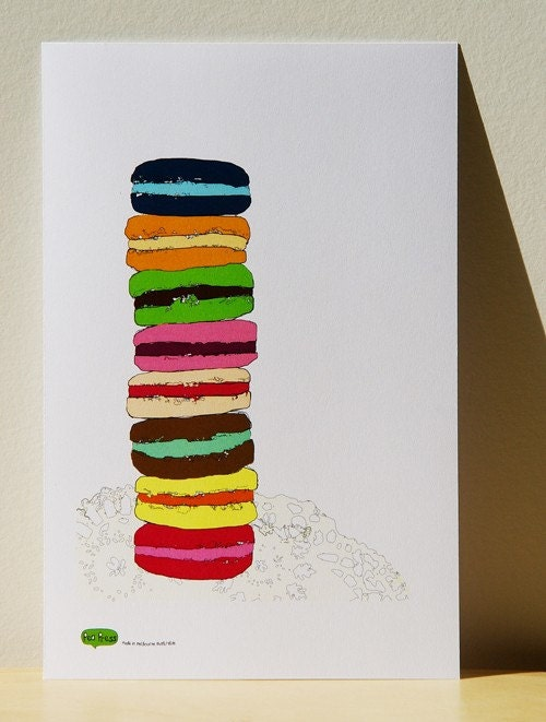 Macaroons - Small Print