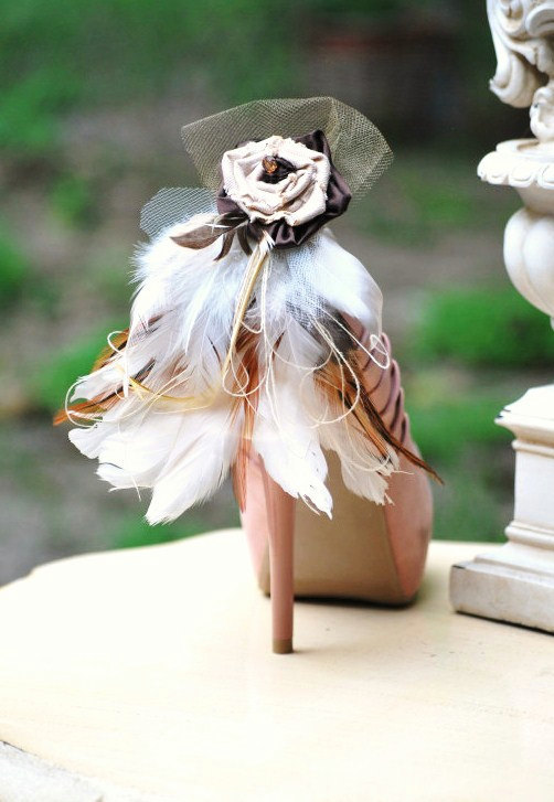 Shoe Clips Set Tan Beige Ivory Night Party Sexy Sophisticated Elegant Summer Autumn Fall Designer Inspired Statement Nonteamchallenge 40