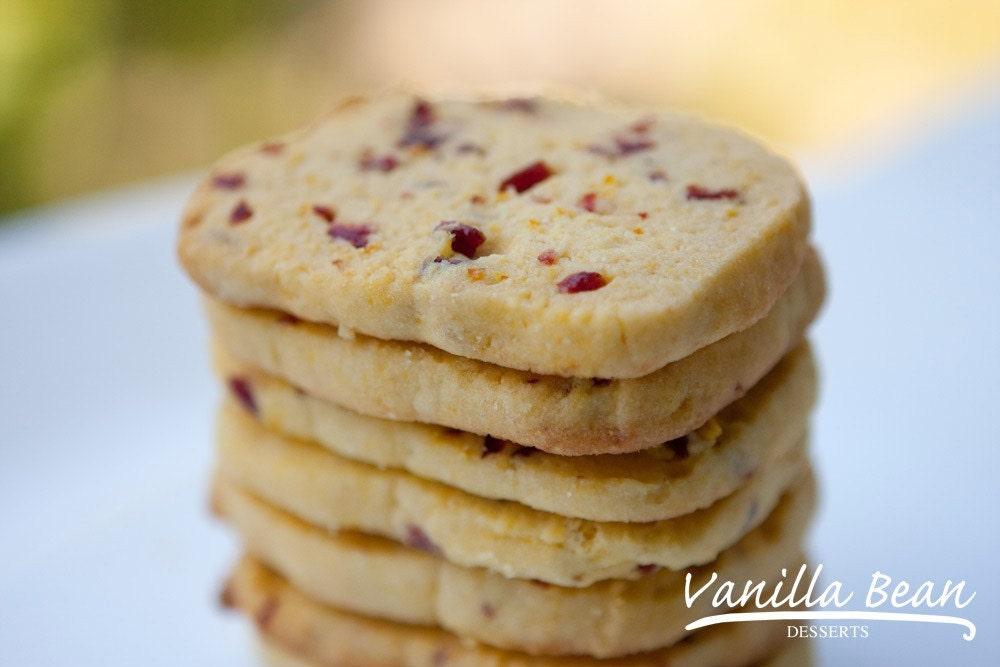 Cornmeal and Dried Cherry Cookies