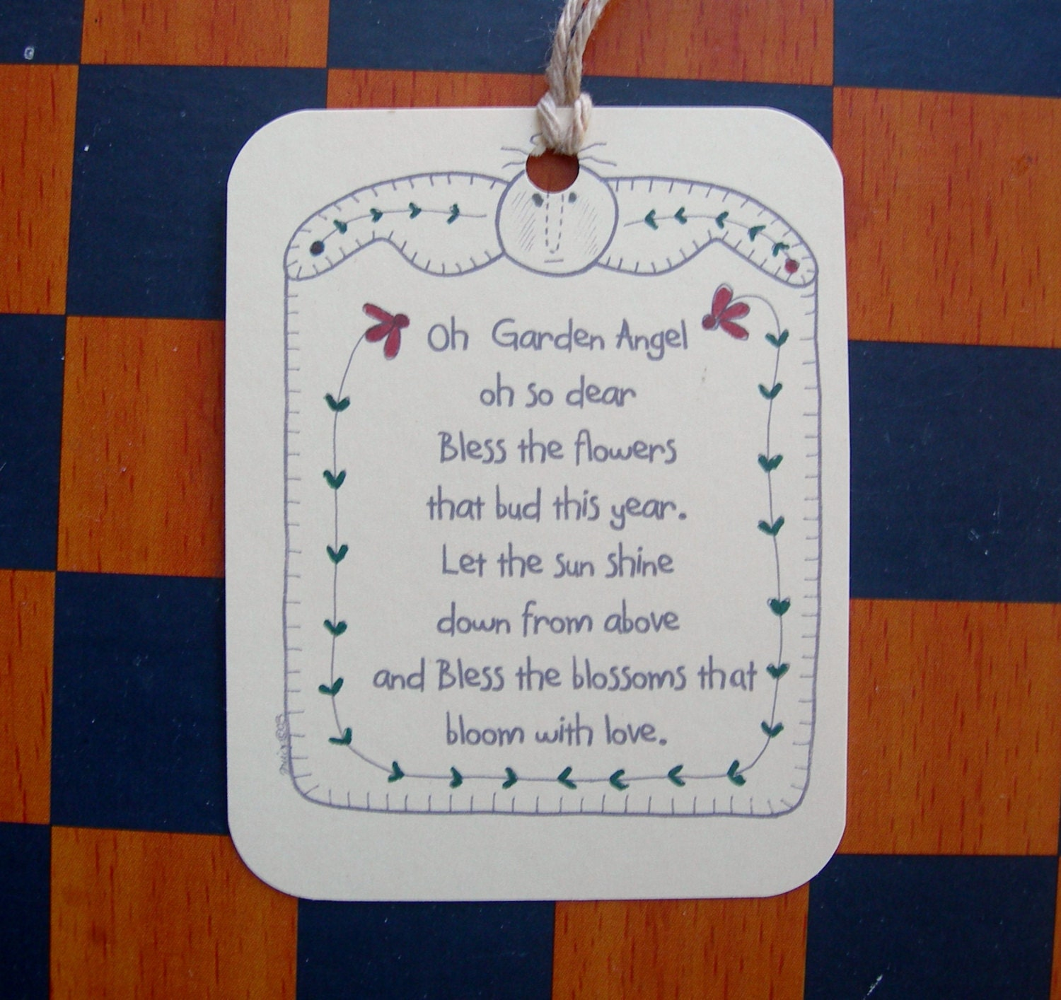 angel poem to go with dish towels | just b.CAUSE