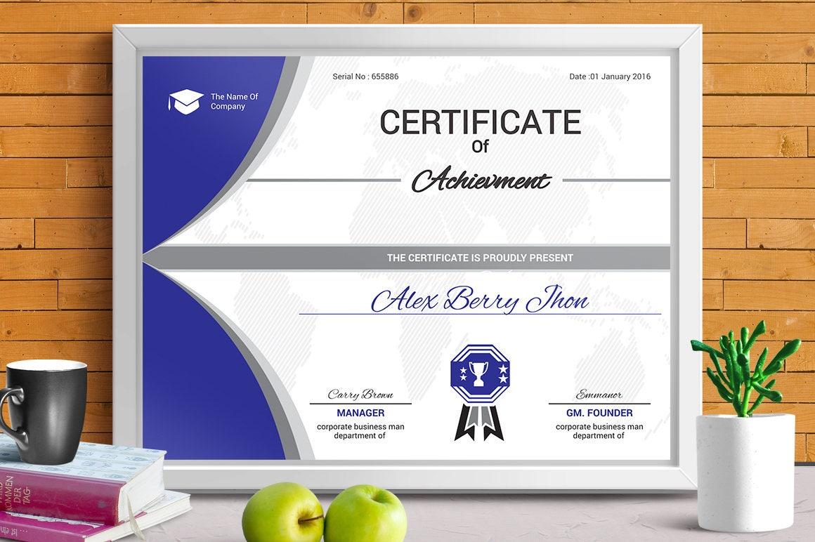 Certificate of Appreciation  OpenOffice template