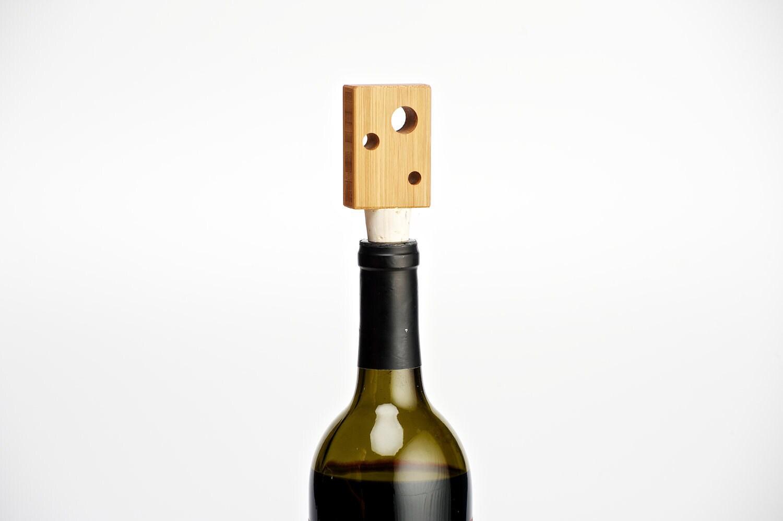 Bamboo Wine Bottle Stopper - StyloDesign