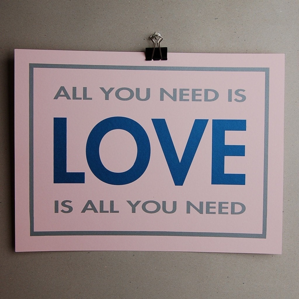 all you need is lovescreen