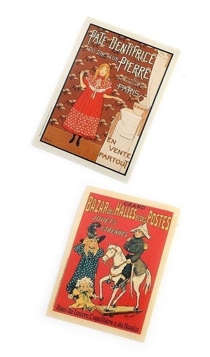 Vintage style sticker set-6 sheet