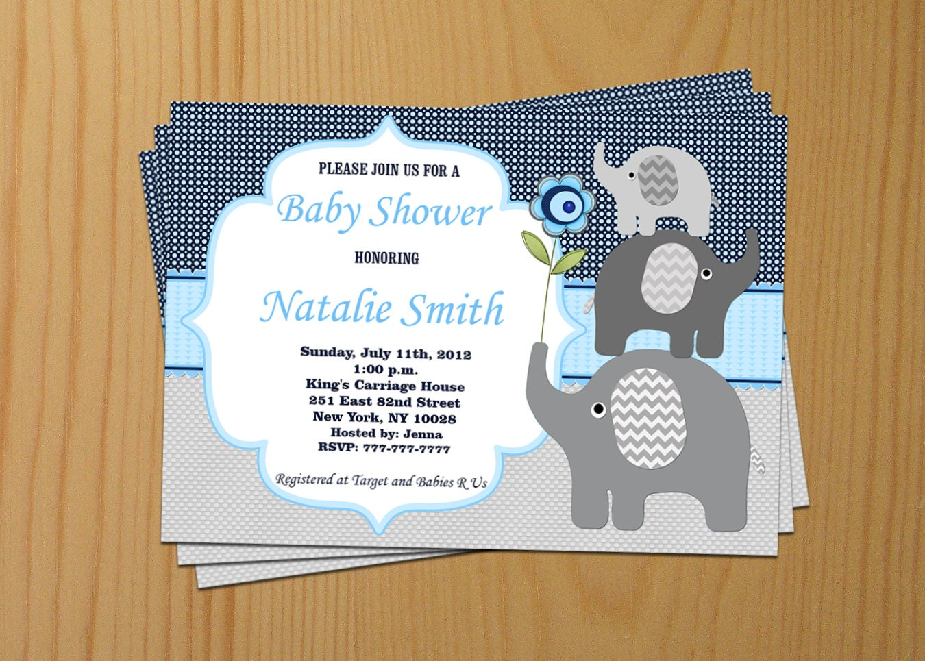 + Printable Baby Shower Invitations - Templatenet