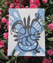 FUNDRAISER, Landscaping Print