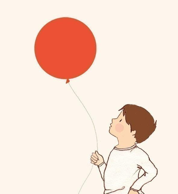 Le Balloon  print