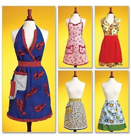 Amazon.com: apron patterns vintage - Arts, Crafts & Sewing