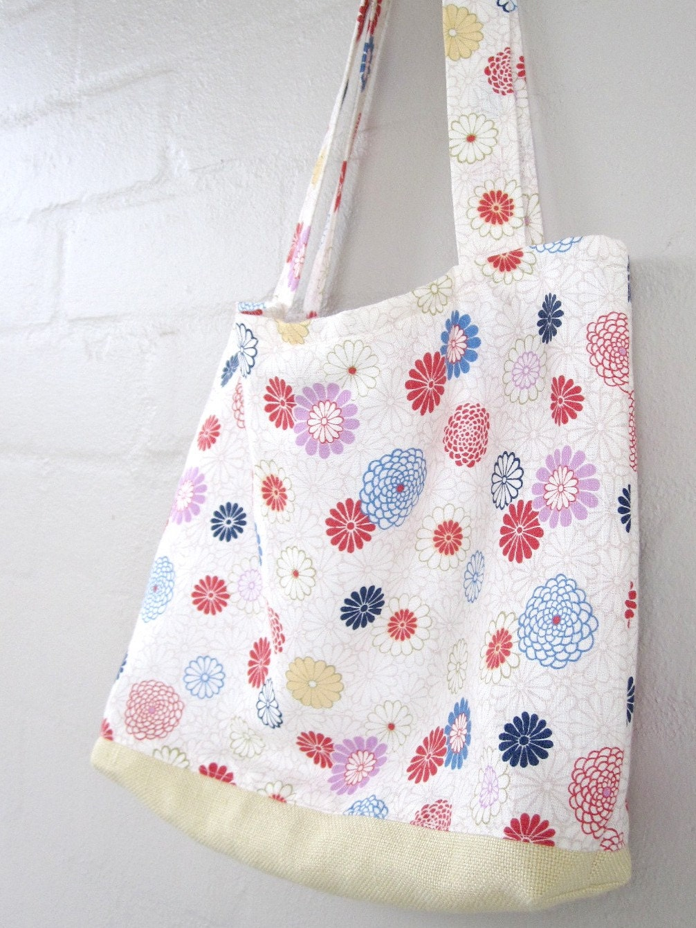 Japanese Flower Tote