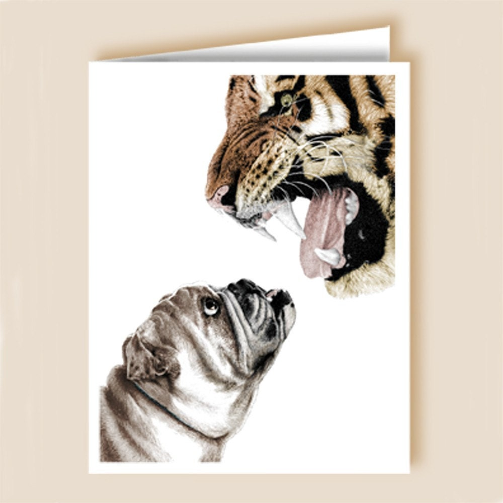 Bite me notecards - pack of 10