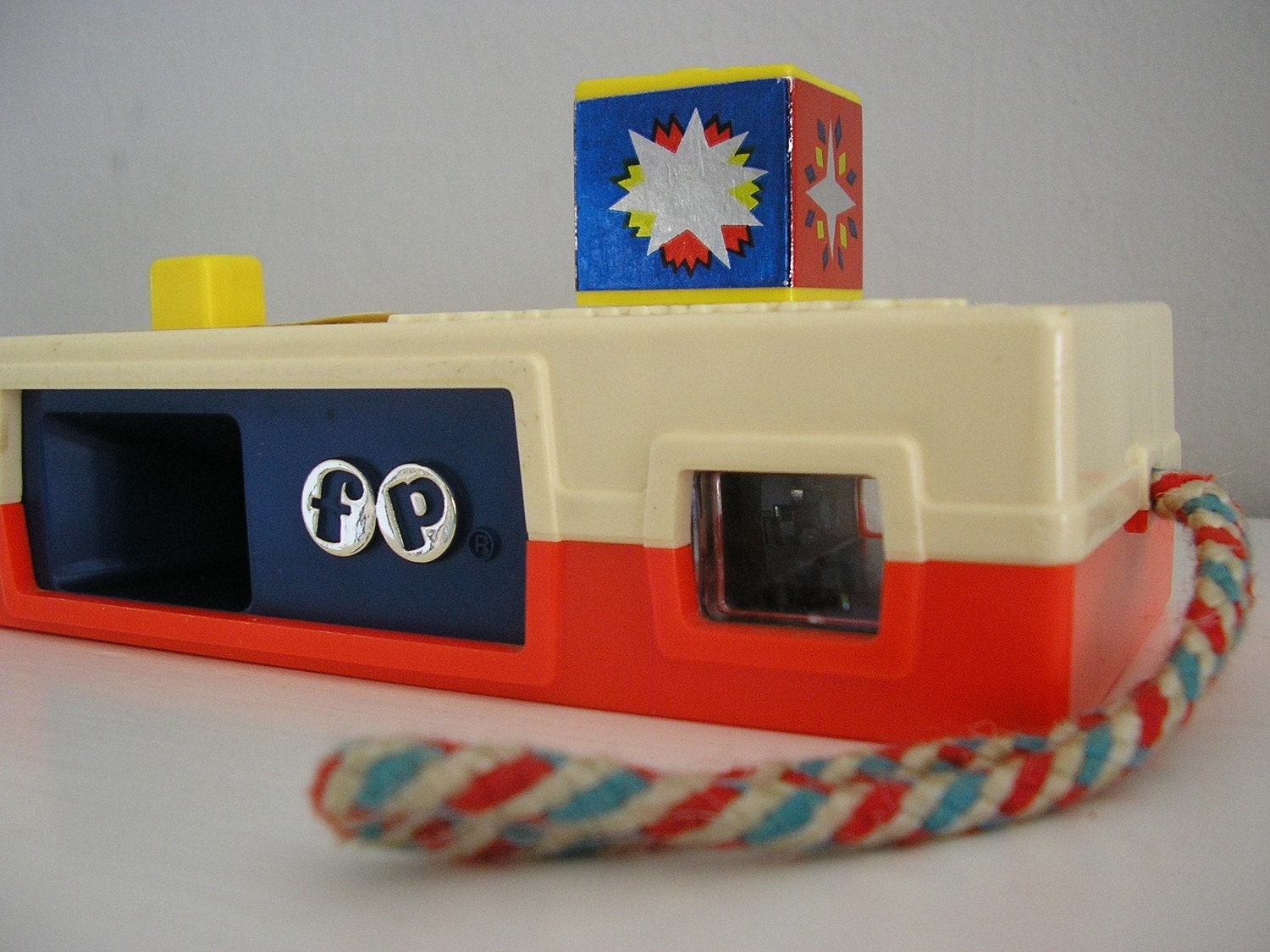 Fisher Price Vintage Toy Camera