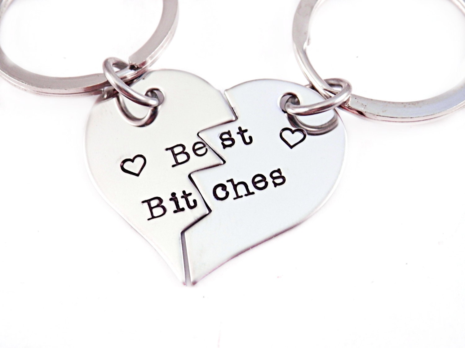 Three Best Friends Forever Necklace Necklace - best bitches Three Best Friends Forever Necklace