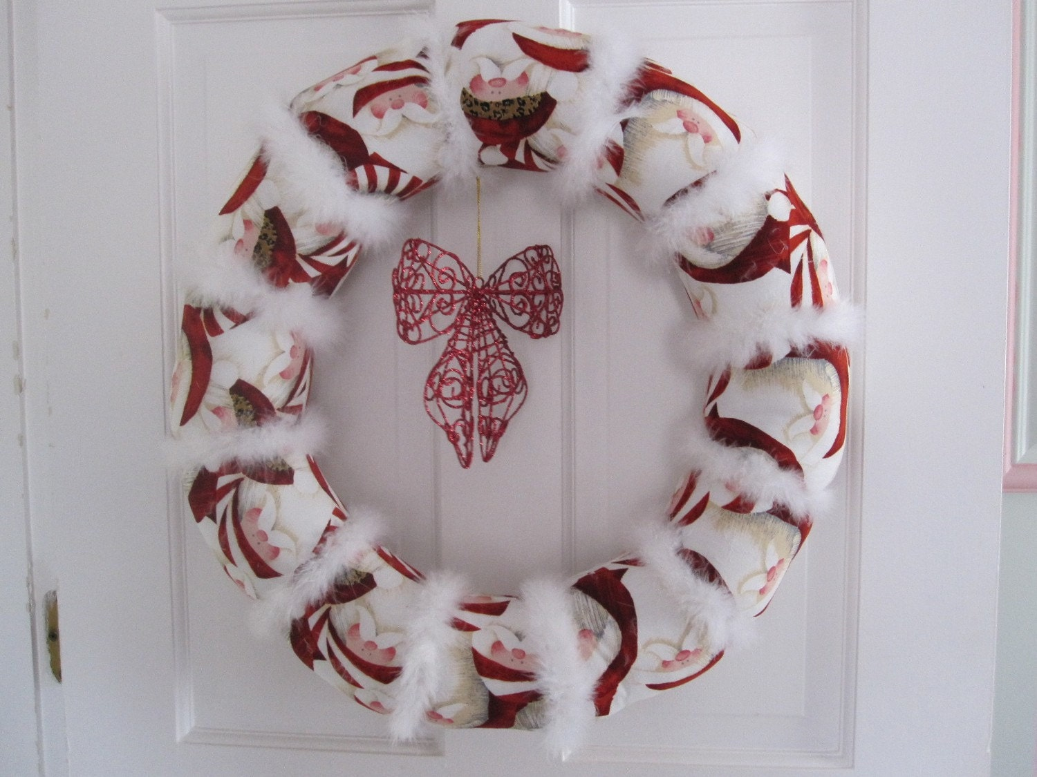 ON SALE HoHoHo Santa wreath