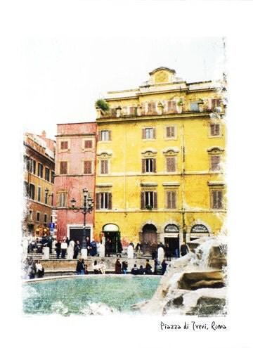Рим Forever - Номер 2 Италия Фото - художественной фотографии - Архитектура Фотография - Рим, Италия Декор - Рома Фото