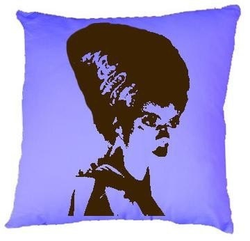 Bride of Frankenstein T-Shirt Tee Onesie or Pillow YOU PICK THE COLORS
