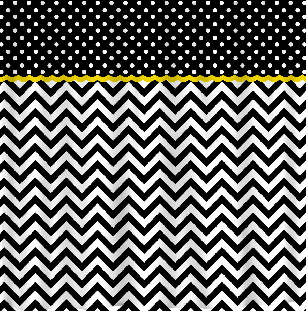 Custom Colors Shower Curtain Chevron Multi Stripe By Redbeauty