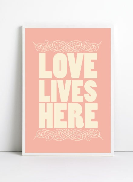 Inspirational quotes, A3, quote prints, quote posters, happy art, typography poster, happy art, positive quotes, Love Poster, Love Art Print - angelaferrara